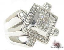 Invisible Diamond Ring 33164 Stone
