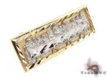 CZ 10K Gold Ring 33216 Mens Gold Rings