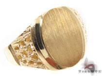 10K Gold Ring 33224 Mens Gold Rings