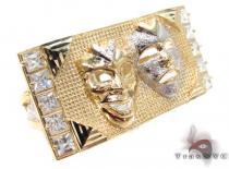 CZ 10K Gold Ring 33229 Metal