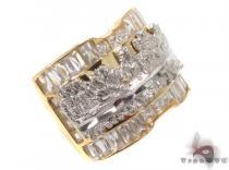 CZ 10K Gold Last Supper Ring 33257 Metal