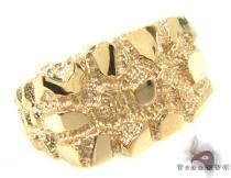 10K Yellow Gold Ring 33304 Mens Gold Rings