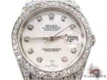Rolex Datejust Steel 116244 Diamond Rolex Watch Collection