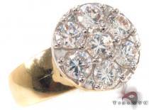 CZ 10k Gold Ring 33351 ゴールド レディース リング