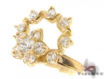 CZ 10k Gold Ring 33380 ゴールド レディース リング