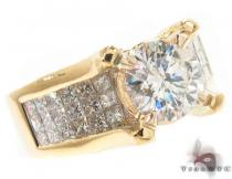 Royal Yellow Semi-Mount Engagement Ring Engagement