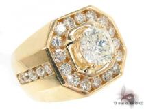 Channel Diamond Ring 33432 Mens Diamond Rings