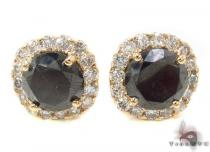 Heiress Black Diamond Earrings 2 Mens Diamond Earrings