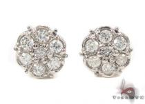 Prong Diamond Earrings 33436 Mens Diamond Earrings
