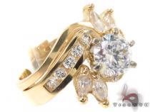 CZ 10k Gold Ring 33442 ゴールド レディース リング