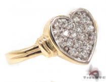 CZ 10k Gold Ring 33539 ゴールド レディース リング