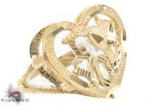 CZ 10K Gold Ring 33632 ゴールド レディース リング