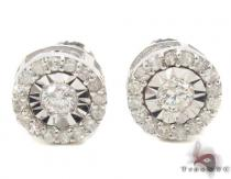 Prong Diamond Earrings 33755 Diamond Earrings For Women