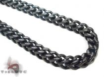 Stainless Steel Franco Chain 40 Inches, 6mm, 133.4 Grams Stainless Steel