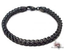 Stainless Steel Franco Bracelet 33814 ステンレススティール ブレスレット