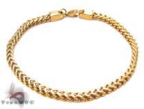 Stainless Steel Franco Bracelet 33816 ステンレススティール ブレスレット