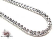 Silver Franco Chain 36 Inches, 5mm, 138.8 Grams Silver Chains