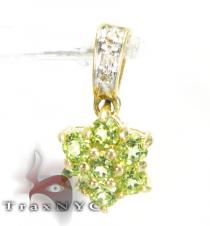 RC Lime Charm Diamond Pendants