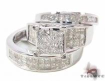 Invisible Diamond Ring 33940 Diamond Wedding Sets