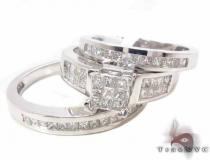 Invisible Diamond Ring 33941 Diamond Wedding Sets