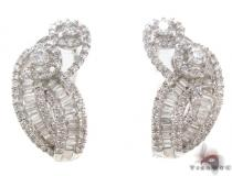 Prong Diamond Earring 34035 Diamond Earrings For Women