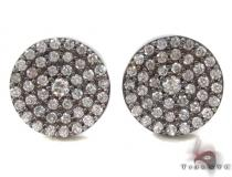Prong Diamond Earrings 34036 Mens Diamond Earrings