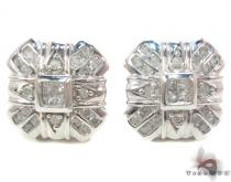 Prong Diamond Earrings 34043 Mens Diamond Earrings