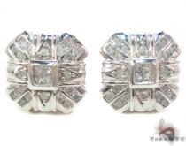 Prong Diamond Earrings 34043 Mens Diamond Earrings