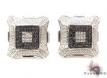 Prong Diamond Silver Earrings 34098 シルバーイヤリング
