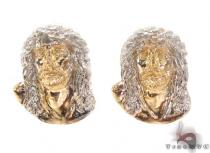 10K Gold Earrings 34161 Metal