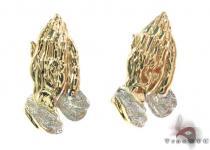 10K Gold Earrings 34176 ゴールドイヤリング