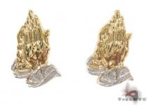 10K Gold Earrings 34177 Metal