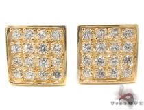 CZ 10K Gold Earrings 34239 ゴールドイヤリング