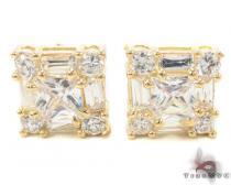 CZ 10K Gold Earrings 34240 ゴールドイヤリング