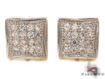 CZ 10K Gold Earrings 33245 ゴールドイヤリング