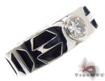 Bezel Diamond Pinky Ring ピンキーリング
