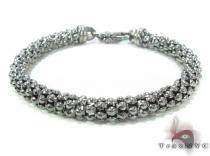 Dark Silver Bracelet 34462 ステアリングシルバーブレスレット