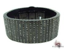 Black Diamond Bullet Bracelet Mens Diamond Bracelets