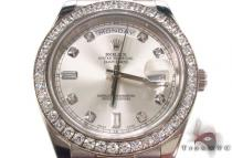 Rolex Day-Date II White Gold 218239
