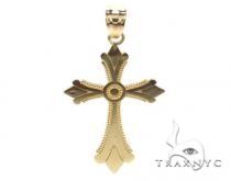10k Gold Cross 34865 Gold