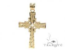 10k Gold Cross 34881 Gold