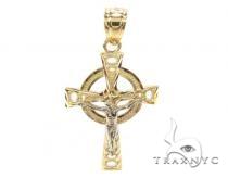 10k Gold Cross Crucifix 34884 メンズ ゴールド クロス