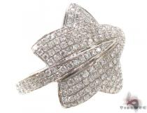 Prong Diamond Star Ring 34902 Womens Diamond Rings
