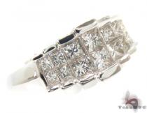 Invisible Diamond Ring 34920 Womens Diamond Rings