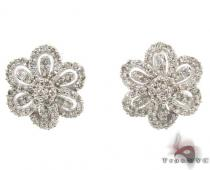 Prong Diamond Earrings 34941 Diamond Earrings For Women
