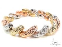 14K Multi-Color Bracelet 34948 Gold Bracelets