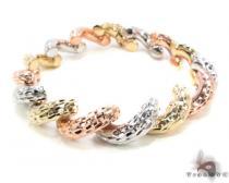 14K Multi-Color Bracelet 34949 ゴールドブレスレット