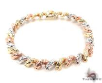 14K Multi-Color Bracelet 34951 Gold Bracelets