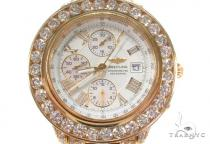 Mens 18K Gold Breitling Crosswind Watch ブライトリング Breitling