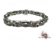 Black Diamond Silver Bracelet 35197 Silver